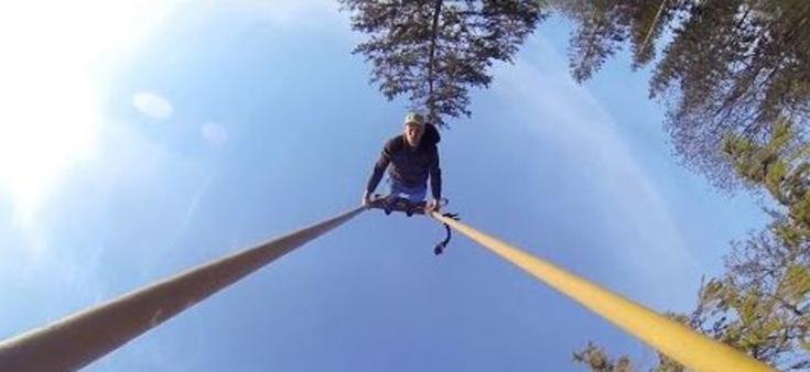 Vaata seda: Eesti kutt tegi GoPro'le kiikingut tutvustava video