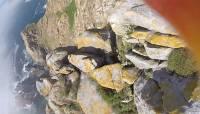 Vaata seda: kajakas näppas turistilt GoPro ja jäädvustas lummavad vaated