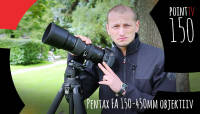 Point TV 150. Pentax FA 150-450mm objektiiv