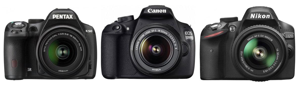 pentax-k-50-Canon-1200d-Nikon-D3200-eest