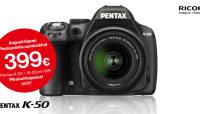 Ainult Photopointis: enneolematu soodushinnaga Pentax K-50 peegelkaamera