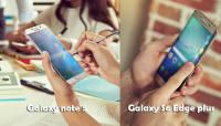 Samsung esitles uusi tippklassi nutitelefone Galaxy S6 Edge Plus ja Galaxy Note 5