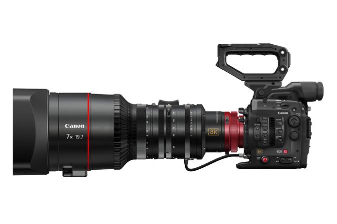 Canon on arendamas 8K videokaamerat ning ekraani