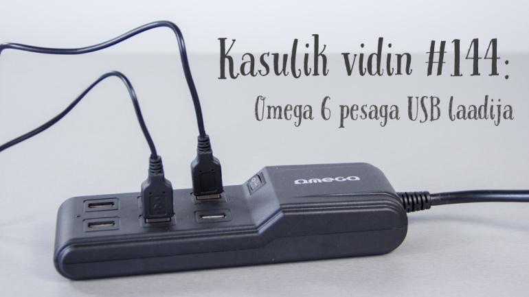Kasulik vidin #144: Omega 6-pesaline USB laadija