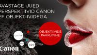 Canon maksab valitud objektiivide ostul Sulle kuni 200€ tagasi