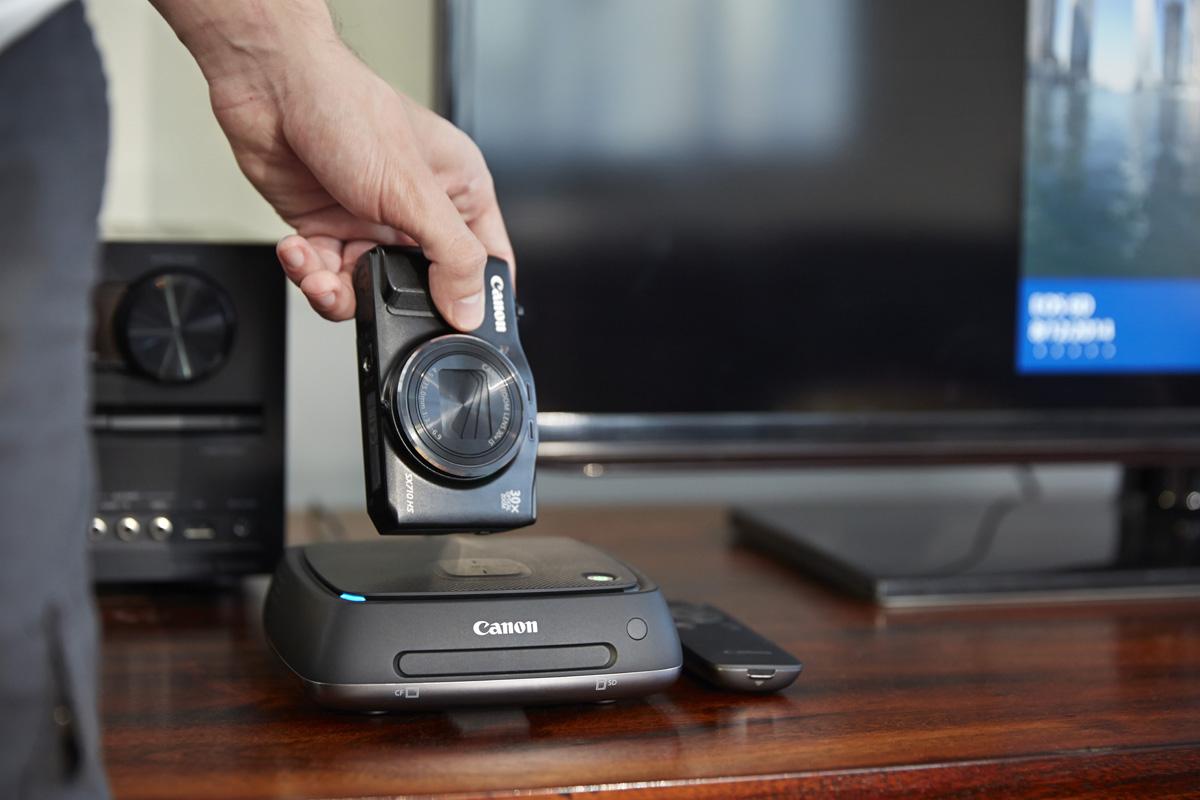 Nüüd saadaval: moodsa aja fotoalbum Canon Connect Station