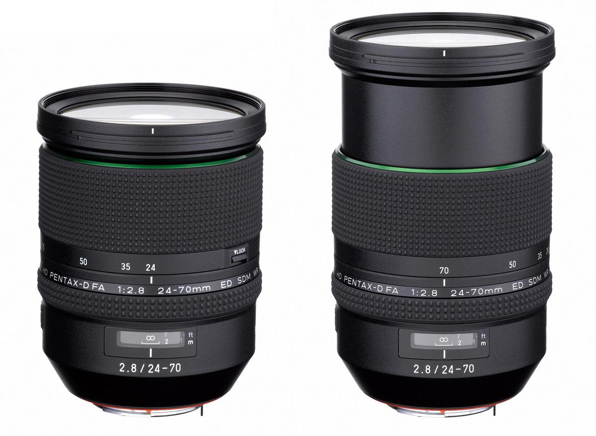 Pentax 24-70mm f/2.8 - valgusjõuline standardsuum täiskaadersensoriga Pentax peegelkaamera ette