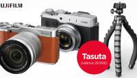 Kampaania pikenes: Fujifilmi fotokaamerate ostul saad kaasa paindliku kingituse