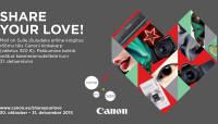 Osta valitud Canoni kaamera ja saad Canonilt karbitäie lisaväärtust