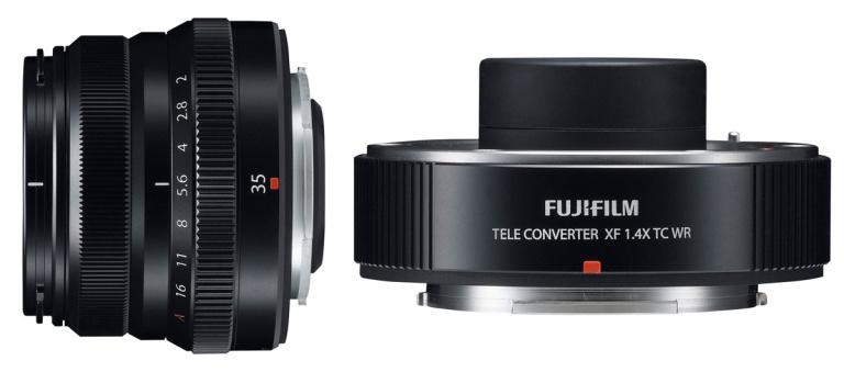 Fujifilmilt 1.4X telekonverter, pisike ja ilmastikukindel 35mm F2.0 objektiiv