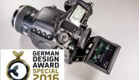 Pentax 645Z keskformaatkaamera pälvis German Design Award 2016 auväärse koha