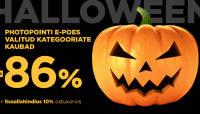 Halloweeni nädalavahetusel e-poes paljud kaubad kuni -86%