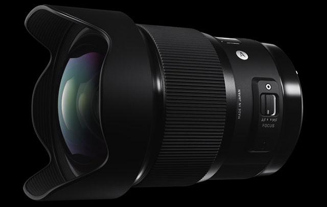 Sigma tutvustas maailma valgusjõuliseimat lainurkobjektiivi 20mm f1.4 DG HSM Art