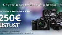 Kõikide Sony E-mount objektiivide hinnad all kuni 250€