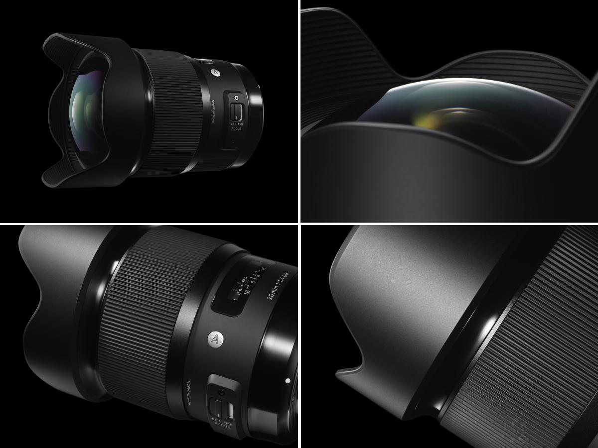 Nüüd saadaval Canoni ja Nikoni peegelkaameratele: Sigma 20mm f/1.4 ART objektiiv