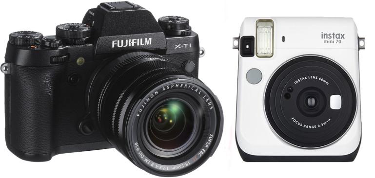 Fujifilmi kaamerate müük on tõusuteel tänu X-seeria ning Instax kaameratele