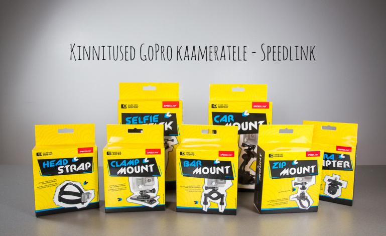 Soodsamad kinnitused GoPro kaameratele - Speedlinki GoPro tarvikute seeria videotutvustused