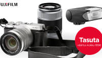 Nagu jõulud: kahe objektiiviga Fujifilm X-A2 ostul kaasa kingitused