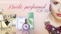 Tutvu Photopointi 10 populaarseima naiste parfüümiga ning osale loosimises