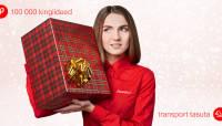 Toome jõulukingitused koju või kontorisse tasuta kätte