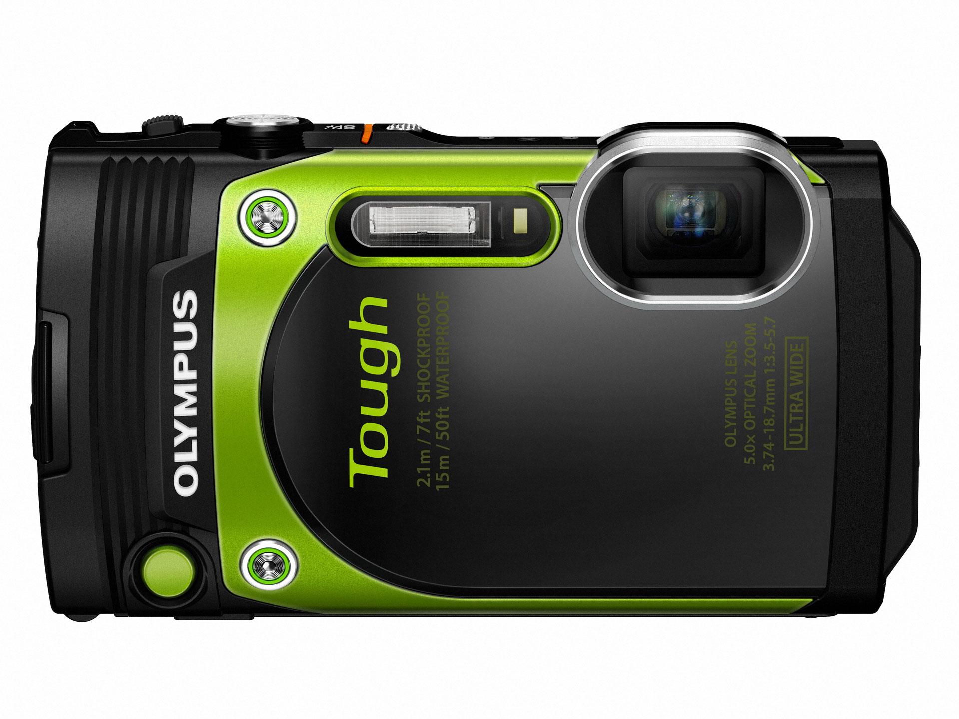 Olympus Tough TG-870 toob täiustatud GPS mooduli
