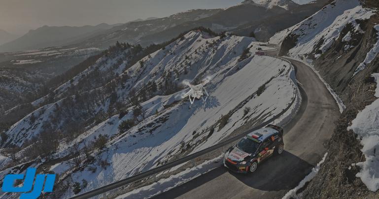 DJI ja WRC lõid käed aerovideote ja fotode tootmiseks 2016. aasta hooajal