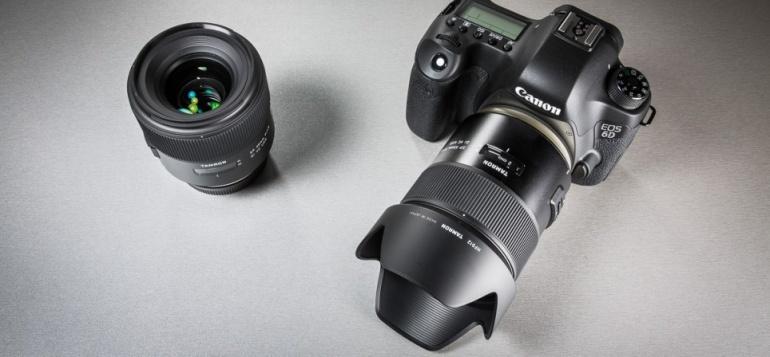 Digitest.ee: Tamroni kvaliteetobjektiiv SP 45mm f/1.8 Di VC USD