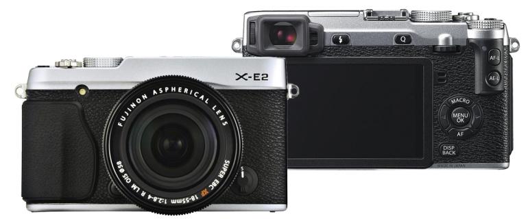 Suur tarkvarauuendus Fujifilm X-E2 hübriidkaamerale