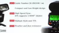 Fujifilmi arendusjärgus välklamp EF-X500 on võimas, kiire ja juhtmevaba ühenduvusega profivälk