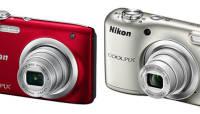 Nikonilt kaks soodsat kompaktkaamerat: õhuke Coolpix A100 ja patareidega Coolpix A10