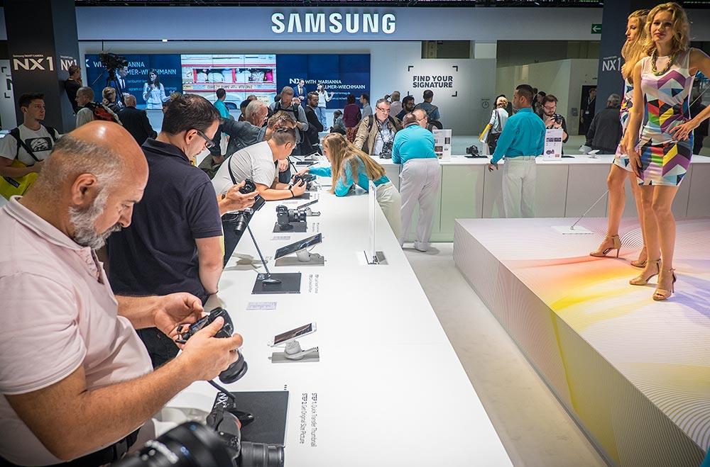 Samsung tühistas osaluse sügisesel Photokina fotomessil