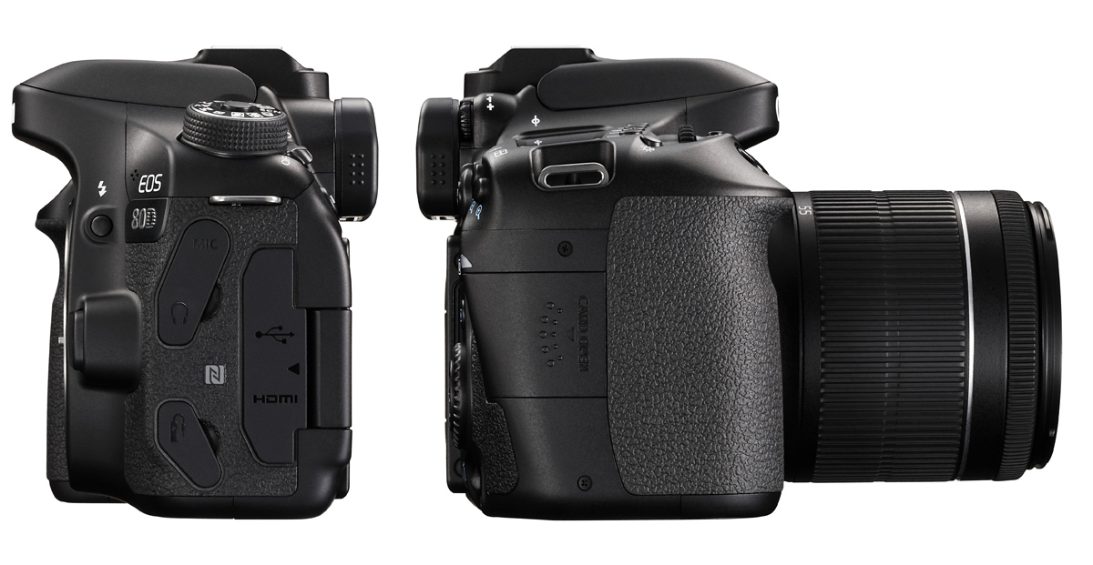 EOS 80D Body RIGHT