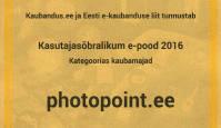 Eesti kõige kasutajasõbralikumaks veebikaubamajaks valiti Photopointi e-pood