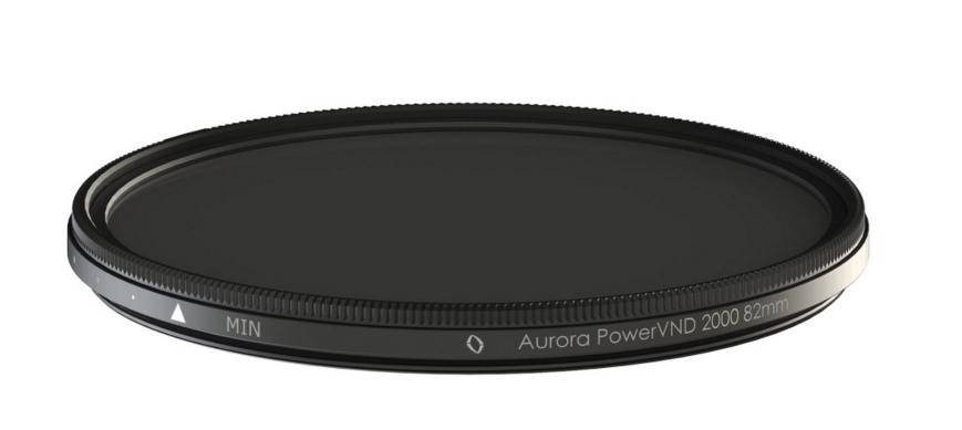 Aurora PowerXND 2000 on maailma pimedaim reguleeritav ND filter