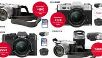 Neli väga head Fujifilmi hübriidkaamerate pakkumist