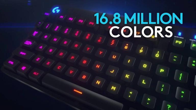 Logitechi uus klaviatuur G810 Orion Spectrum sobib nii tööks kui lõbutsemiseks