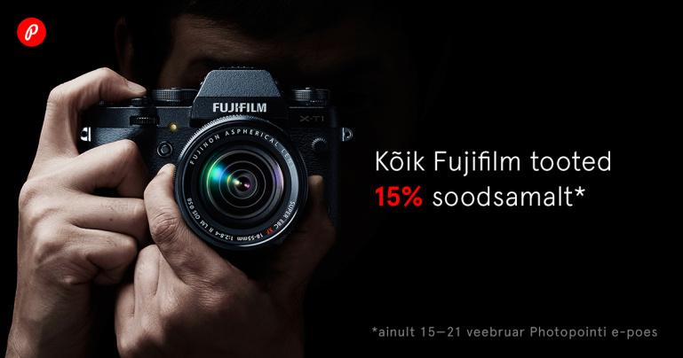 See tuleb taas - Fujifilmi soodusnädal Photopointi veebikaubamajas