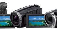 Sony videokaamerad FDR-AX53, HDR-CX625 ja HDR-CX450
