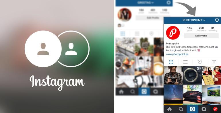 Omad mitut Instagrami kasutajat? Tänu uuendusele saad neid vahetada vaid ühe puudutusega!