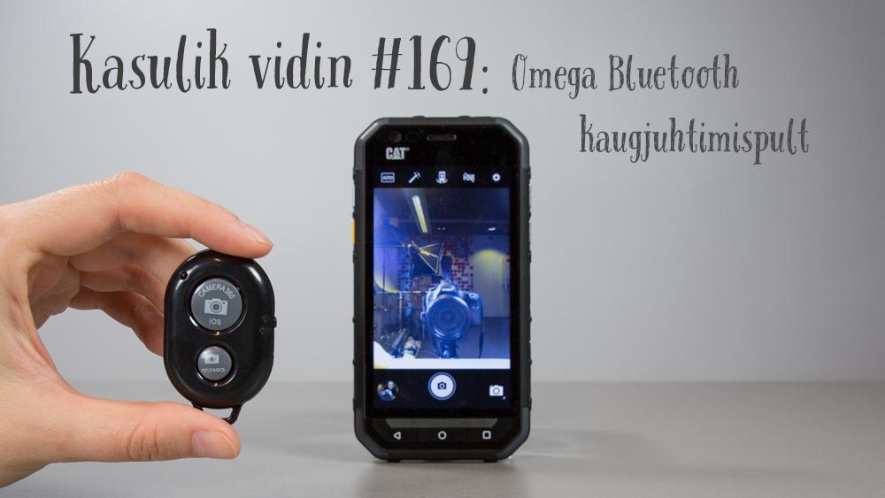 Kasulik vidin #169: Omega Bluetooth kaugjuhtimispult