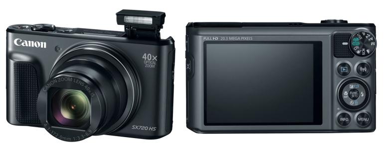 Canon PowerShot SX720 HS kompaktkaamera mahutab 40x suumi taskusse