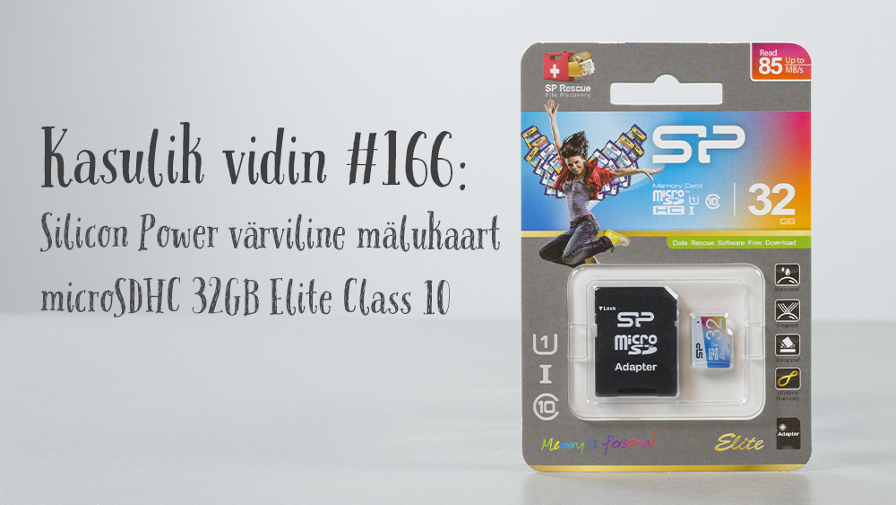 2b084884571 Kasulik vidin #166: Silicon Power värviline mälukaart microSDHC 32GB ...