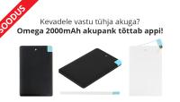 Omega krediitkaardi suurune akupank praegu eriti särtsaka hinnaga