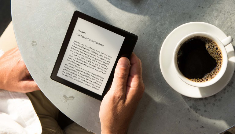 Amazon Kindle Oasis on seni kergeim ning väikseim Kindle
