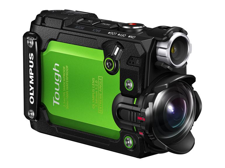 Olympus avalikustas enda esimese seikluskaamera Stylus Tough TG-Tracker