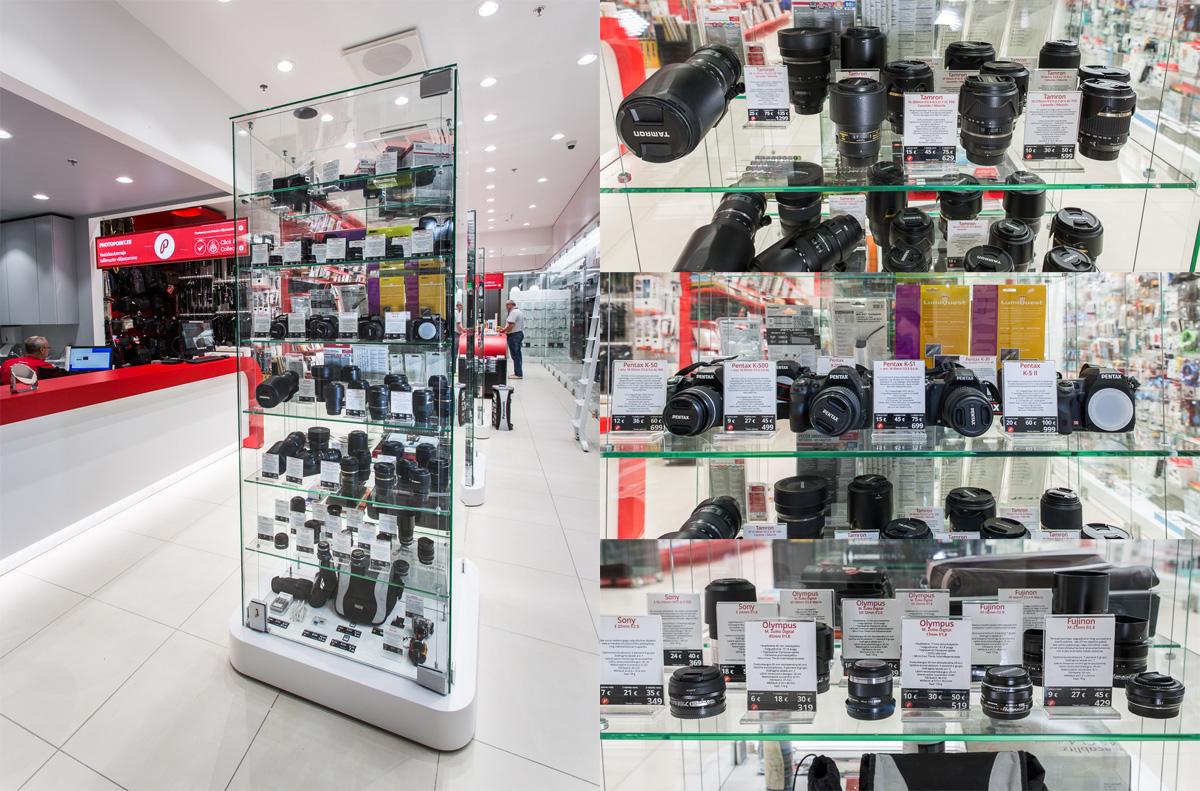 Tartu fototehnika rendipunkt asub nüüd Kvartali Photopointi esinduskaupluses