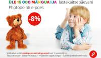 Lastekaitsepäeva puhul on kõik mänguasjad Photopointi e-poes -8%