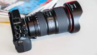 Kuidas toimivad peegelkaameraobjektiivid Canon EOS M3 hübriidkaamera ees?
