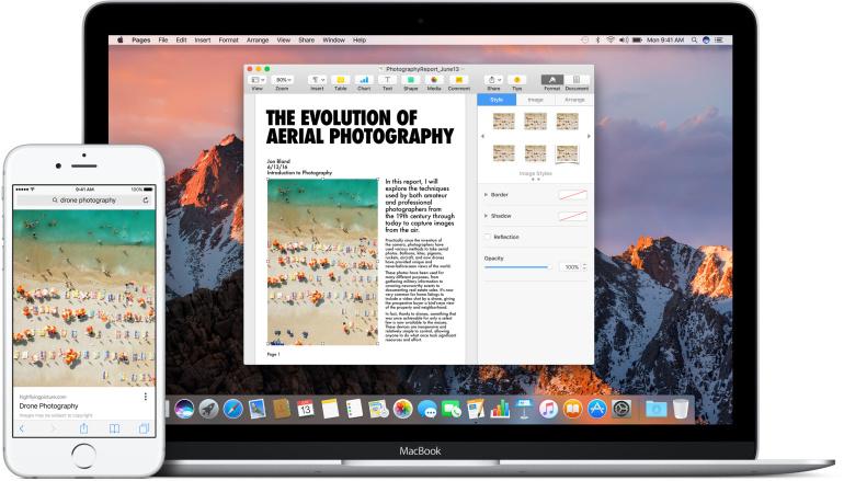 Apple macOS Sierra tuleb sügisel koos Siri ja 150 GB pilveruumiga