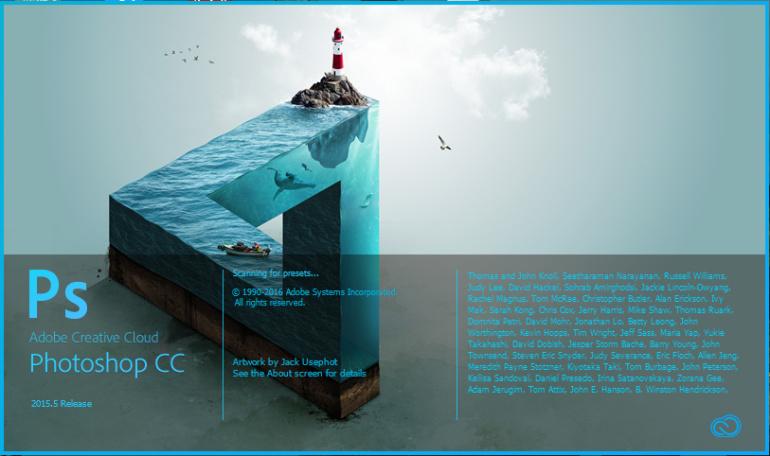 Adobe lansseeris uue Photoshop CC versiooni ning lisas mitmeid uuendusi